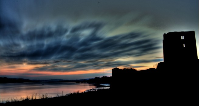 HDR, 7 Minute Exposure at Granny Castle – Photo of the Week