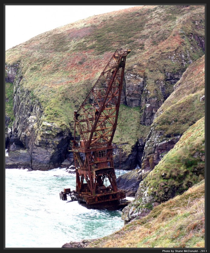 The Samson, Crane Ship, Ardmore, Co. Waterford, Ireland