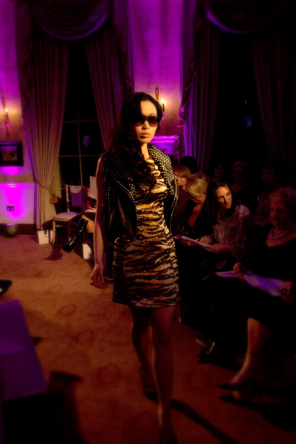 Moody Lighting at Mount Juliet Fashion Event