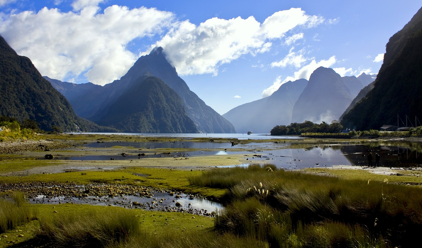 Milford Sound from the Township – Photo of the Week
