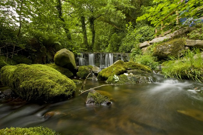 Using ND filters to slow water in camera