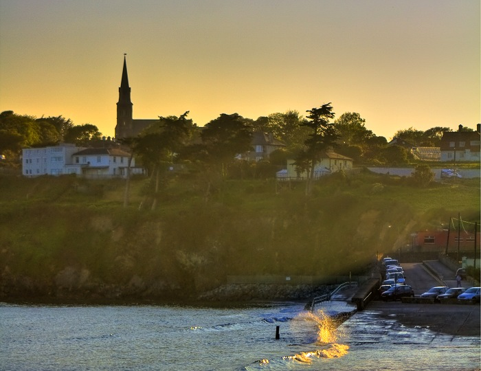 Tramore and Crashing Waves Evening Photo – Photo of the Week