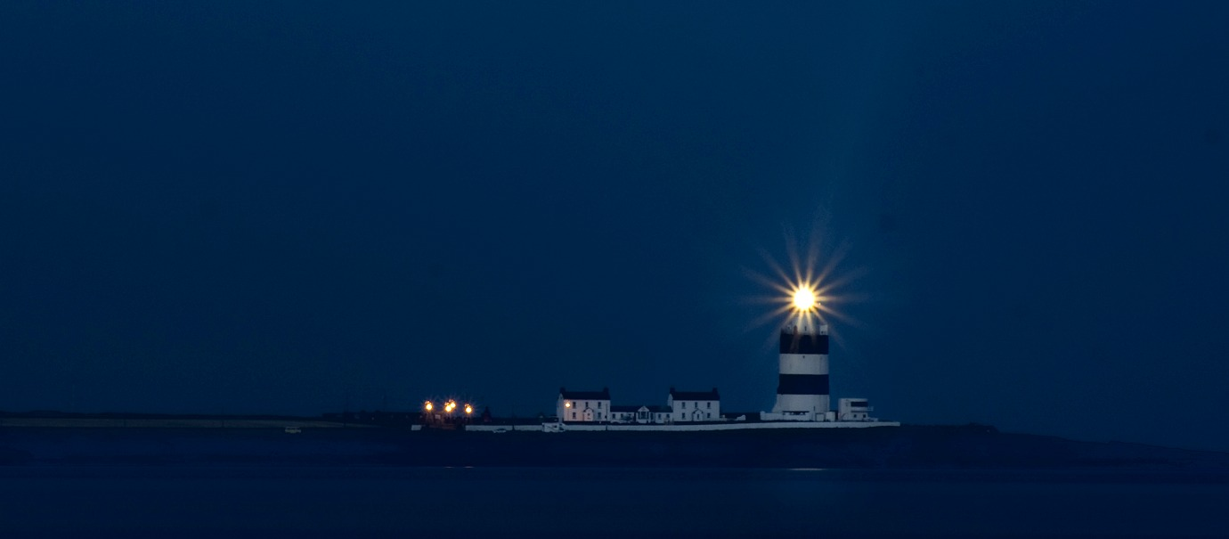 Hook Head - Evening Shot, Long Exposure of Hook Head at Dusk