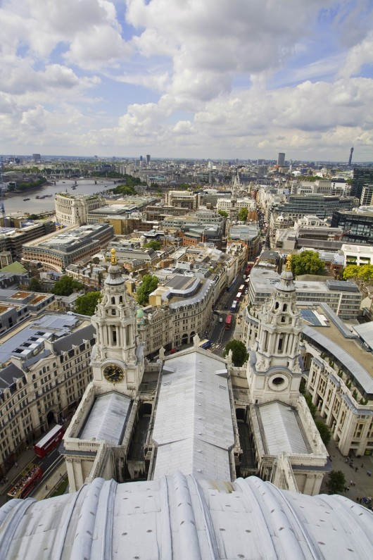 London from St. Pauls Cathedral