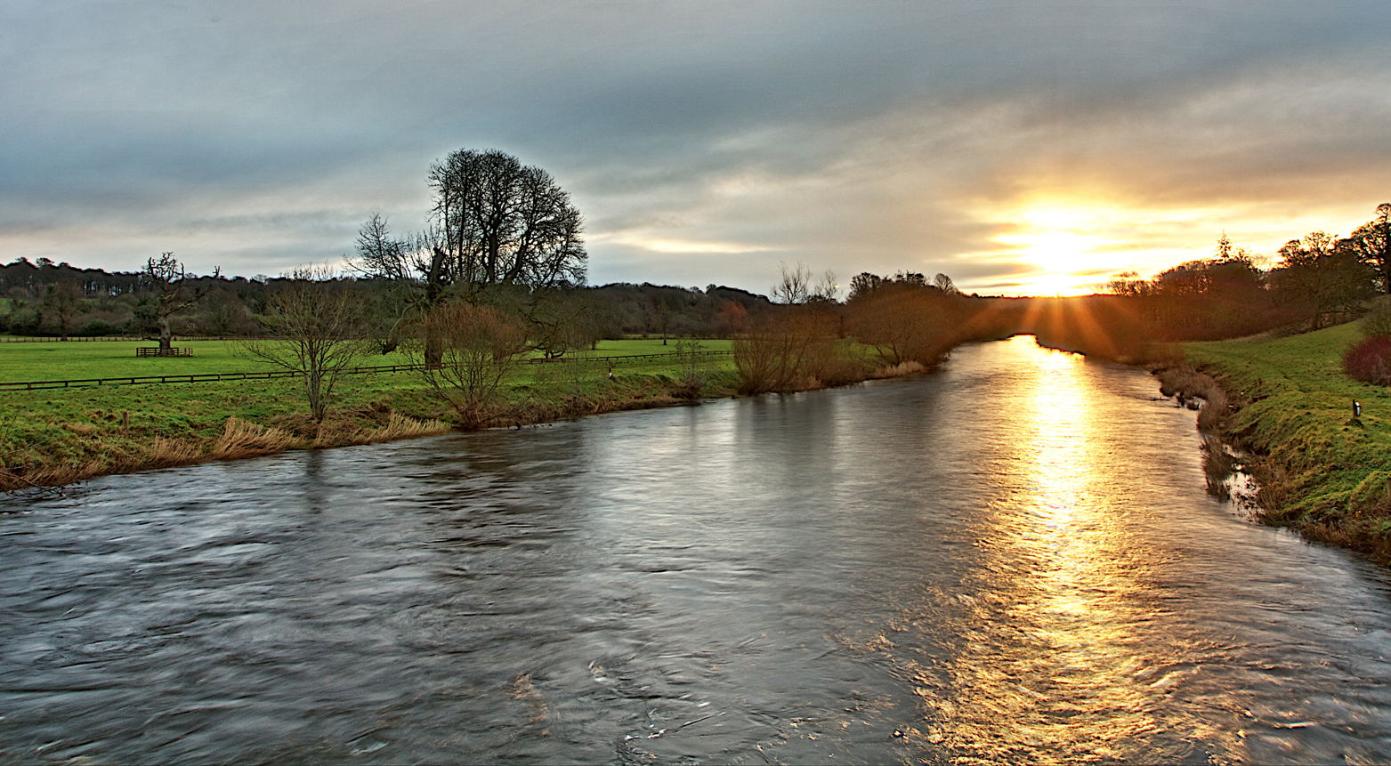 Sunrise over the River Nore, Kilkenny - 2/Project52