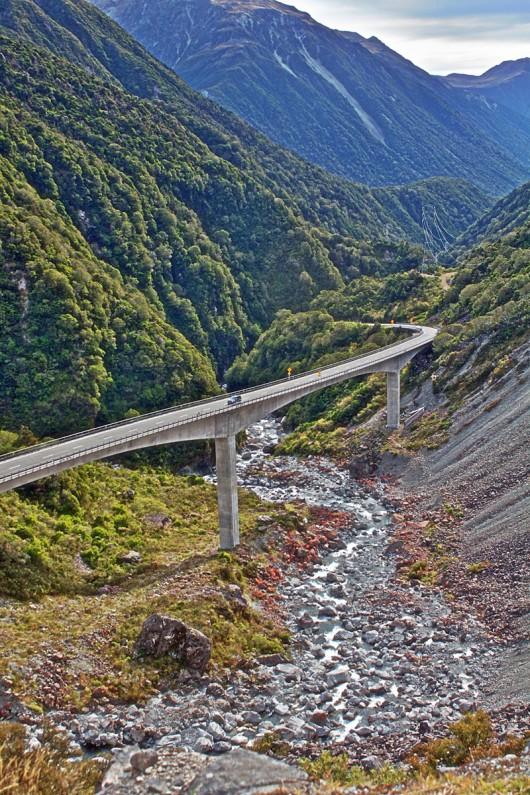 Arthurs Pass Viaduct - Arthurs Pass New, Zealand, Viaduct Road