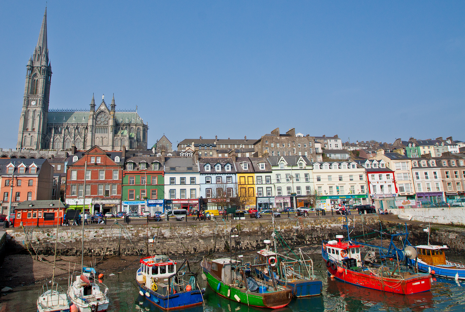 Cobh, Co. Cork, Ireland - Last place the Titanic stopped on its maiden voyage.