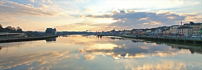 Waterford City Sunrise Photo, Early Morning Sunrise over Waterford, Ireland