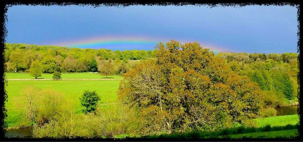 Low Rainbow - iPhone Photography Challenge