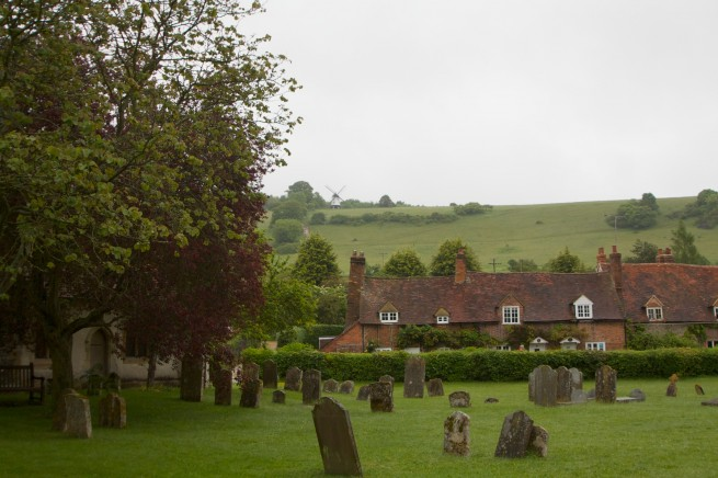 Graveyard - Vicar of Dibley location