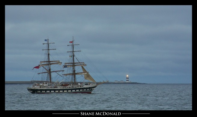 Stavros S Niarchos at Hook Head and Dunmore East Waterford - Tall Ships