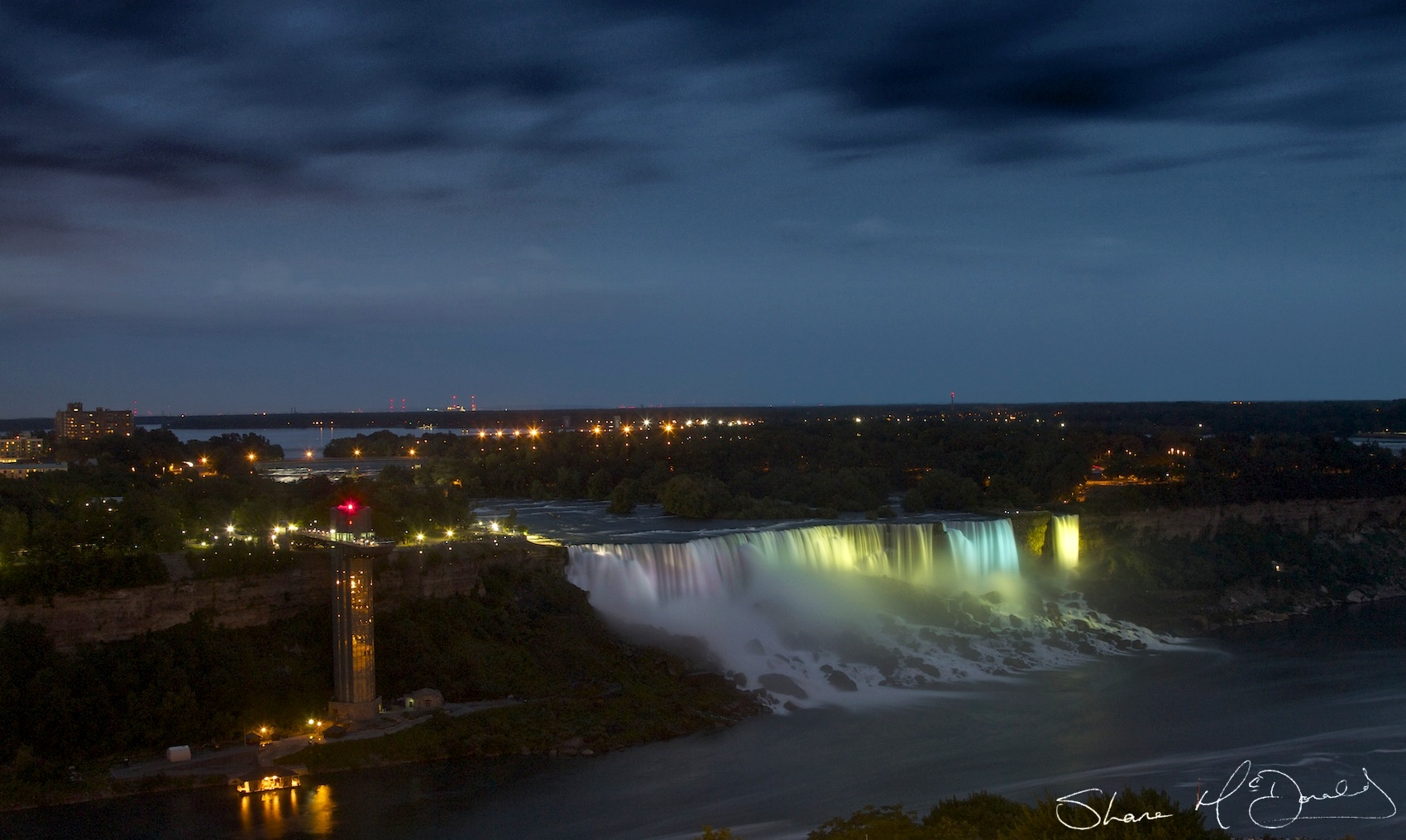 Niagara Falls at Night – 30/Project52