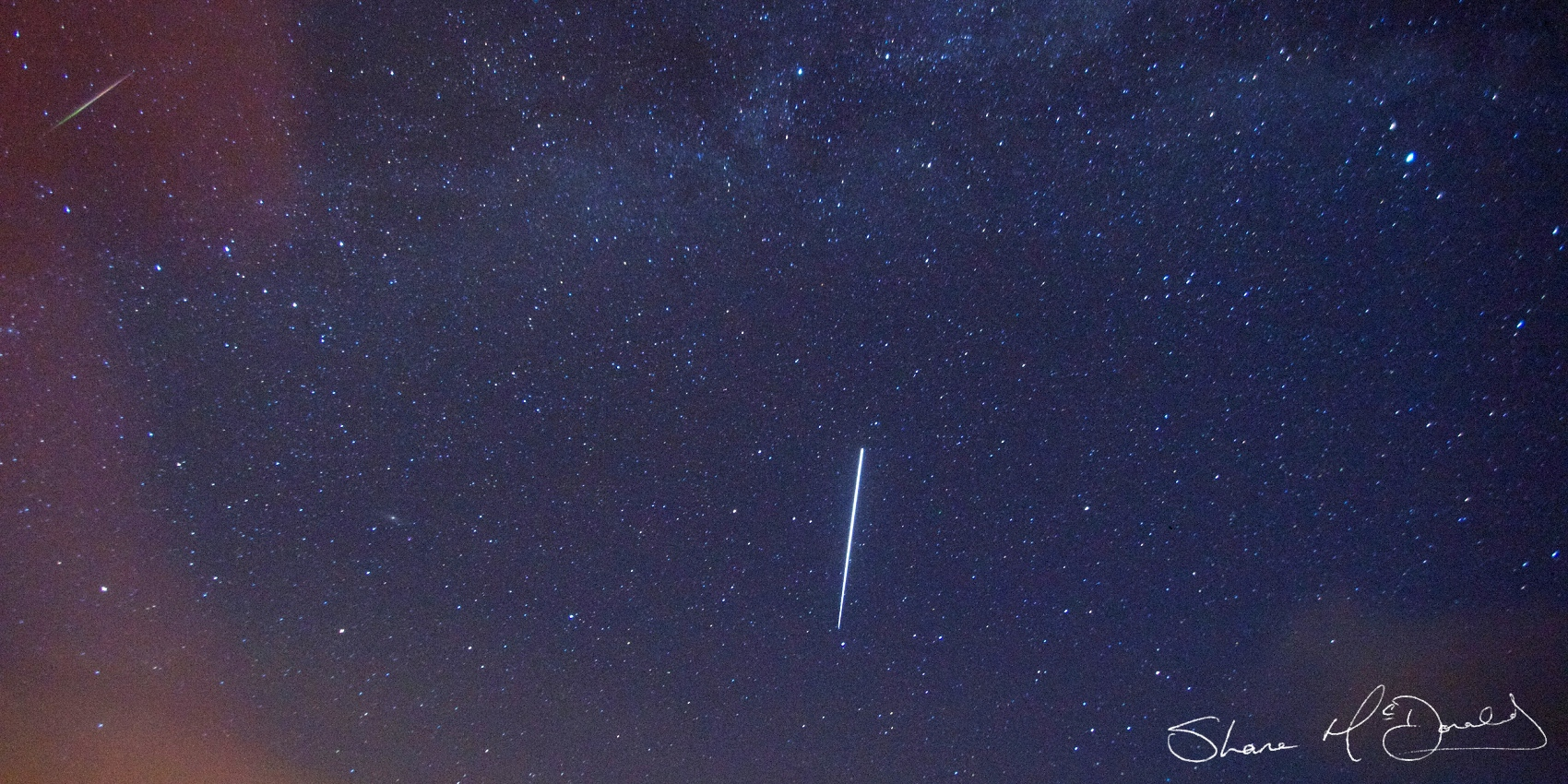 Peresid Meteor Shower - How to photograph the peresid / persid meteor shower
