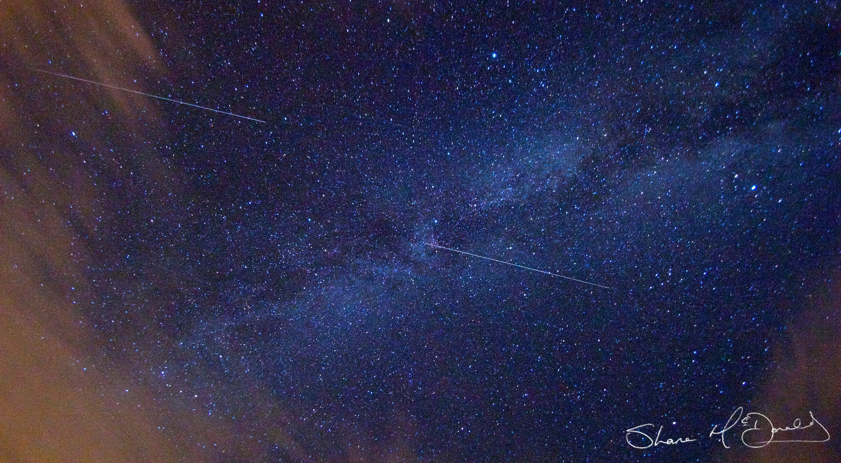 Photo of Peresid Meteor Shower - How to photograph the peresid / persid meteor shower and Milky Way