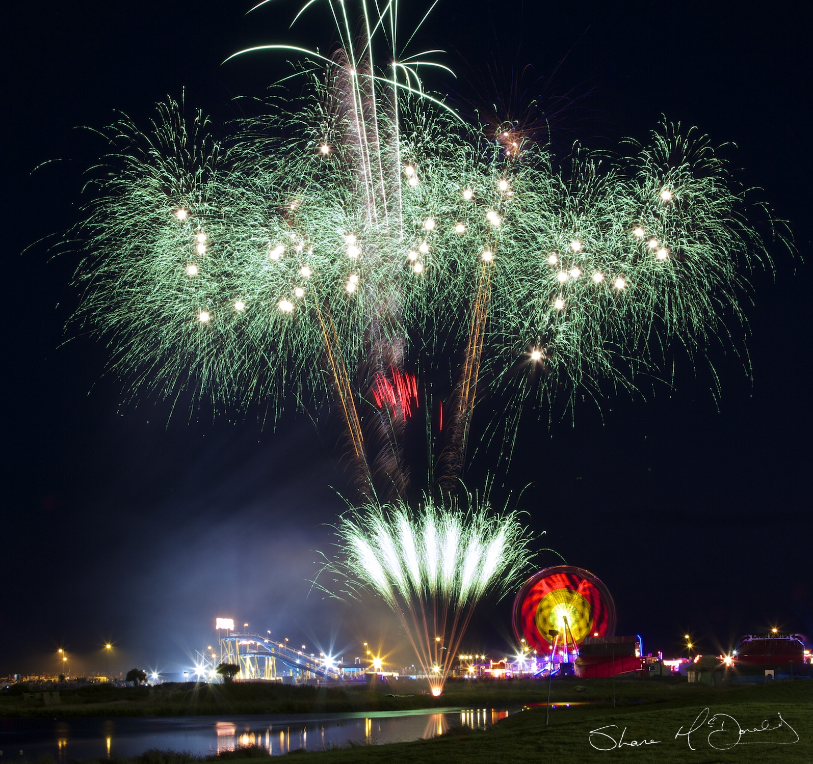 Tramore End of Season Fireworks 2015