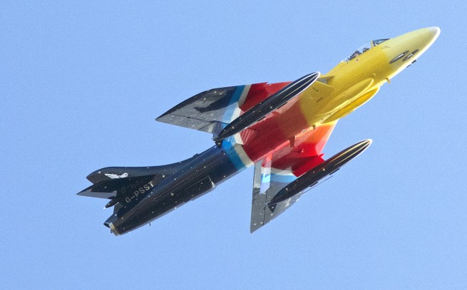 Flightfest - Miss Demeanour - Hawker Hunter
