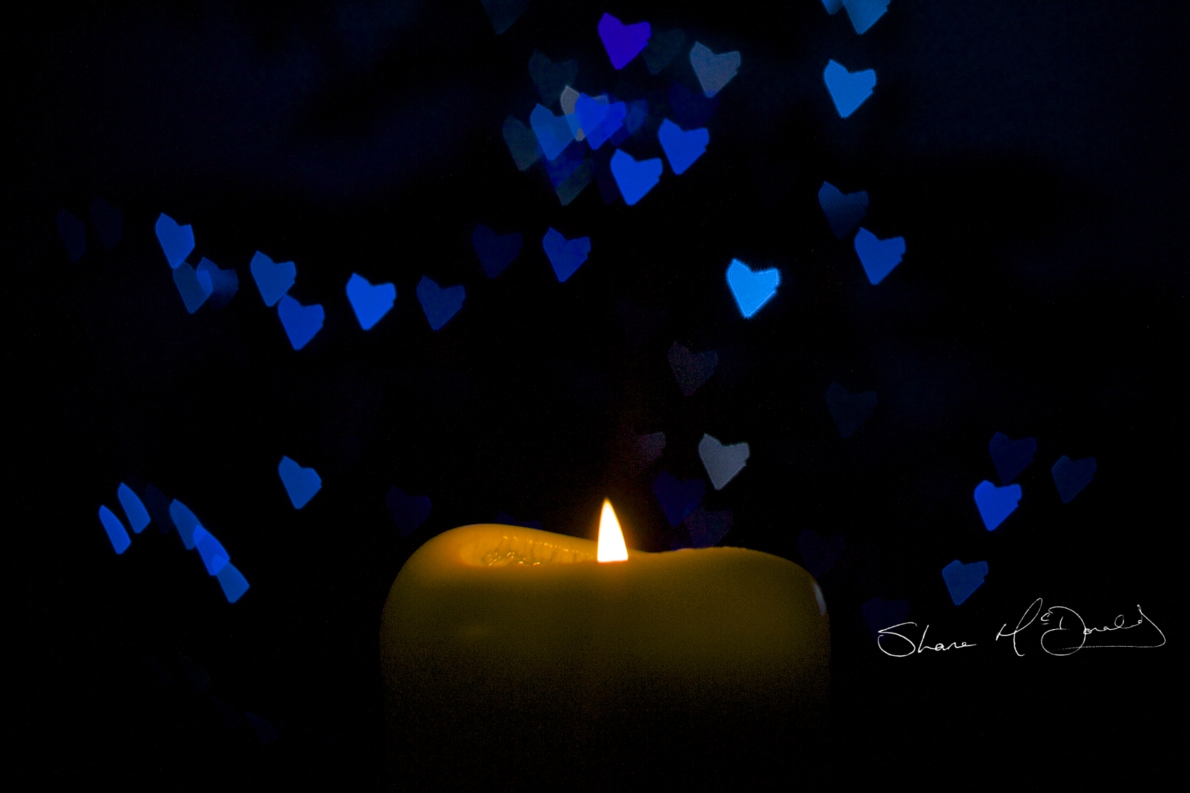 Heart Shaped Bokeh - Creating Custom Bokeh, Aperture Shapes - Making Heart Shaped Custom Bokeh