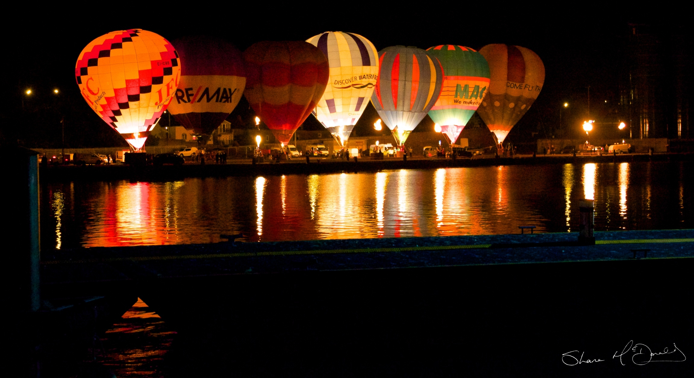 Irish Hot Air Ballooning Championships : Nightglow Waterford