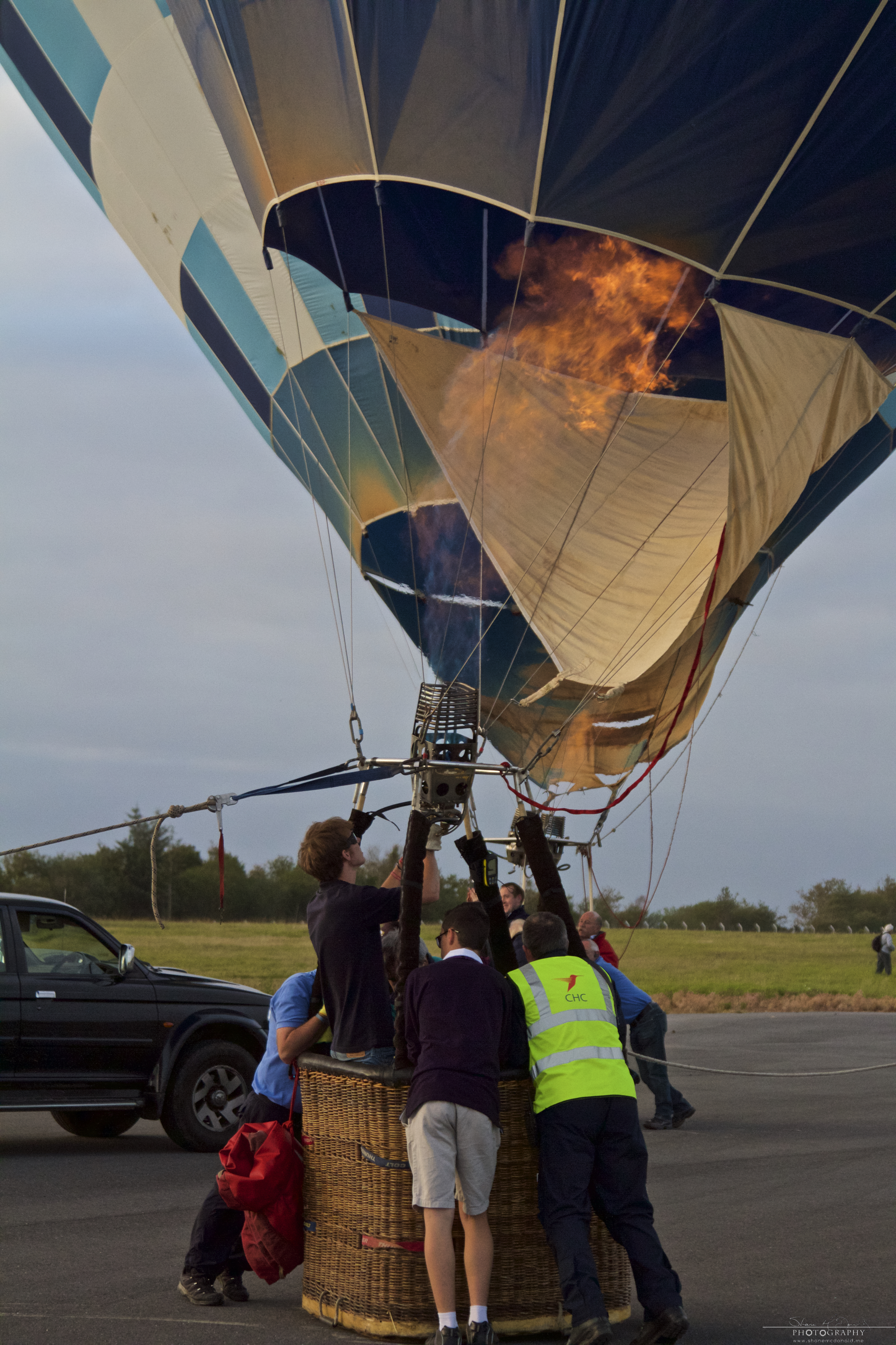 Irish Balloon Championships firing