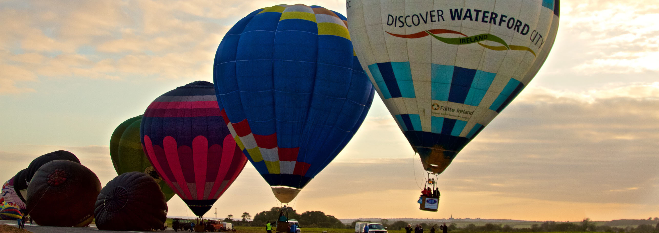 Irish Balloon Championships 2015 - Waterford Airport