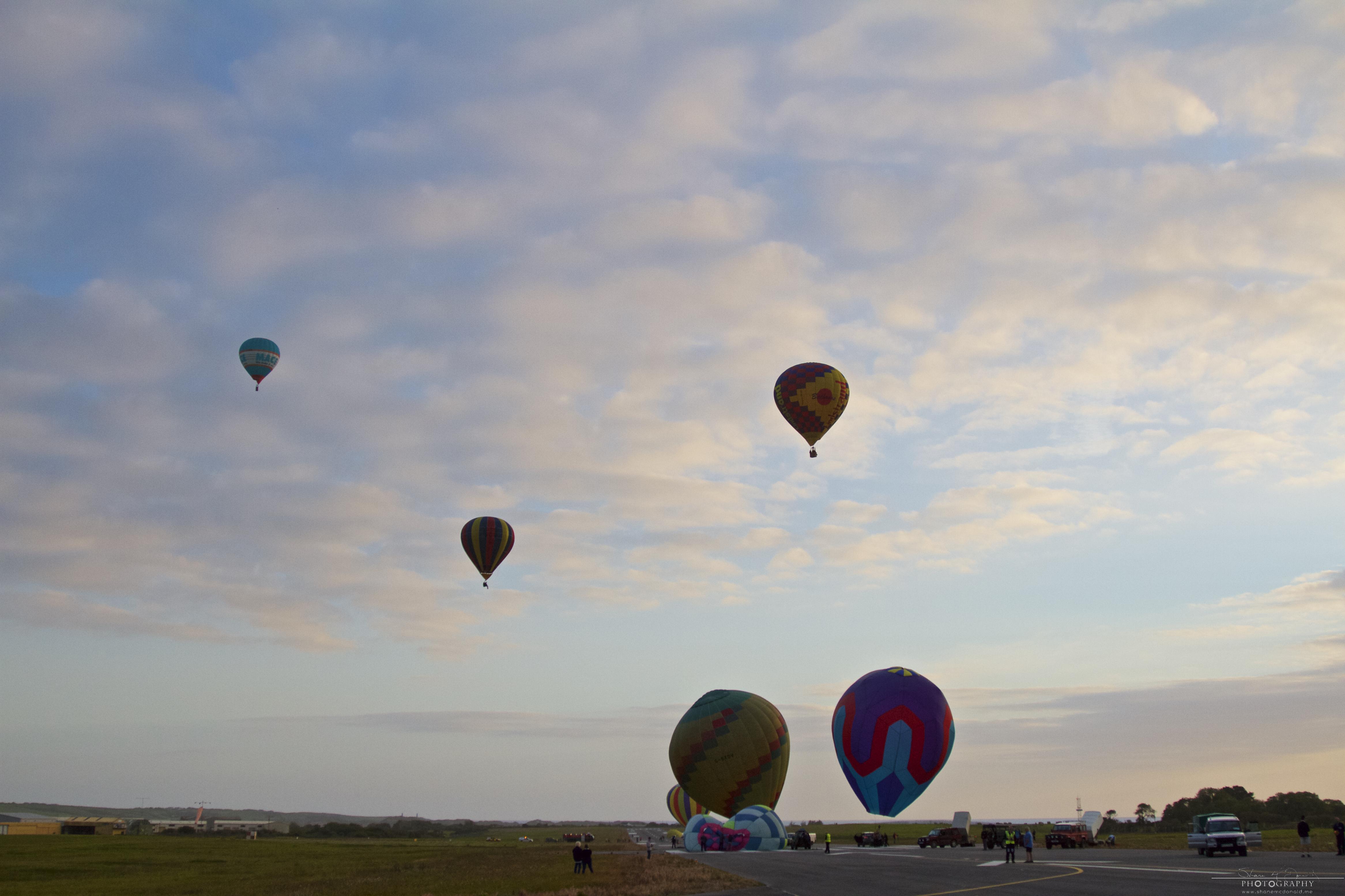 Irish Balloon Championships various
