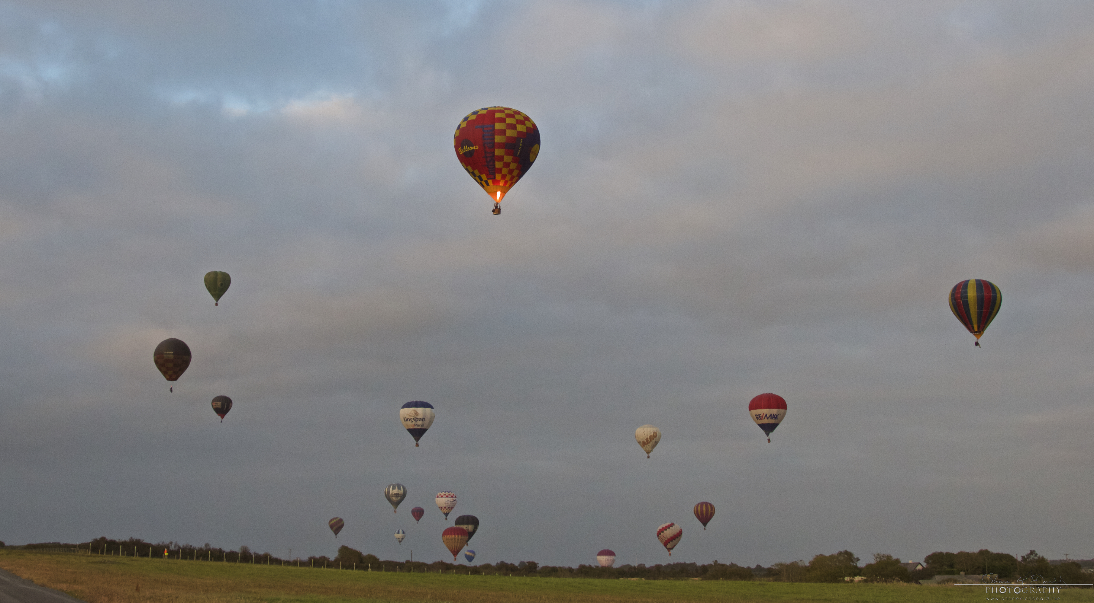 Irish Balloon Championships Many Balloons