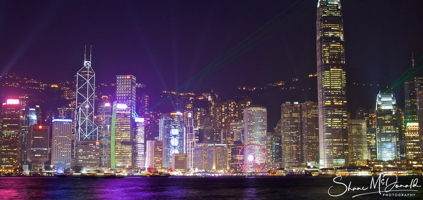 Hong Kong Cityscape by Night - Landscape Photography