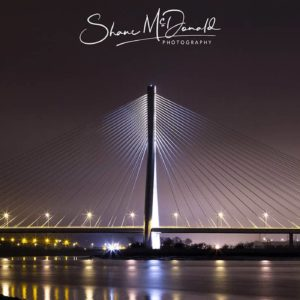 Shane McDonald Photography - Waterford N25 Bridge by Night