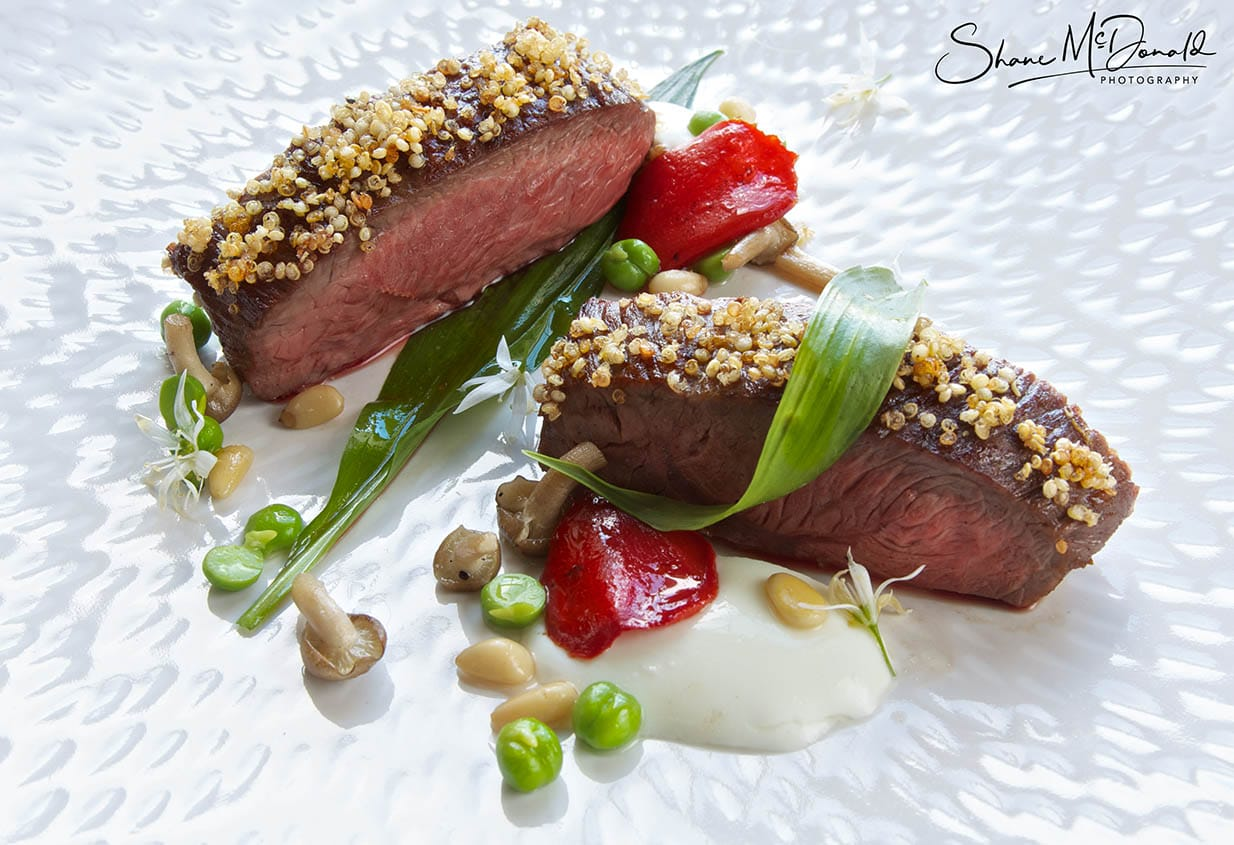 Lamb, different angle - Food Photography