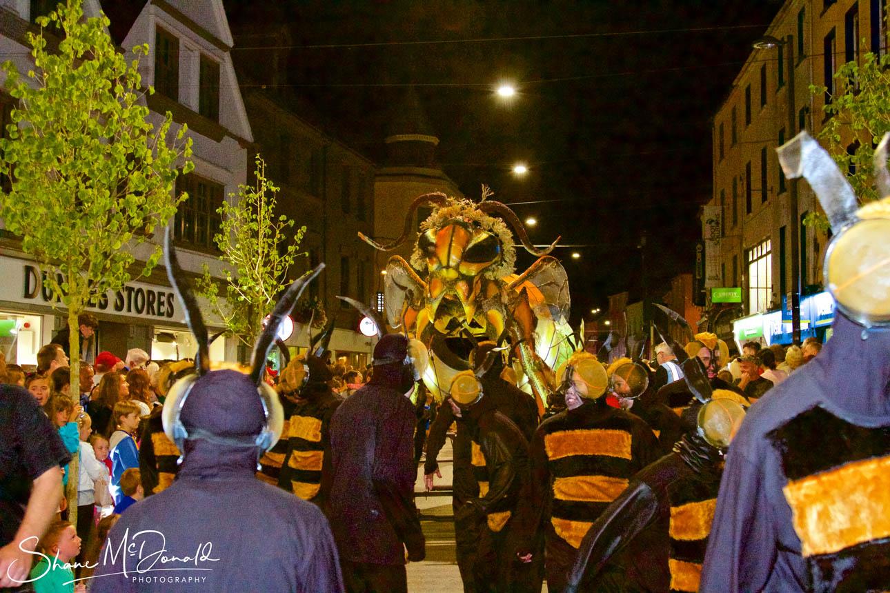 The Wasp - Spraoi Parade 2018