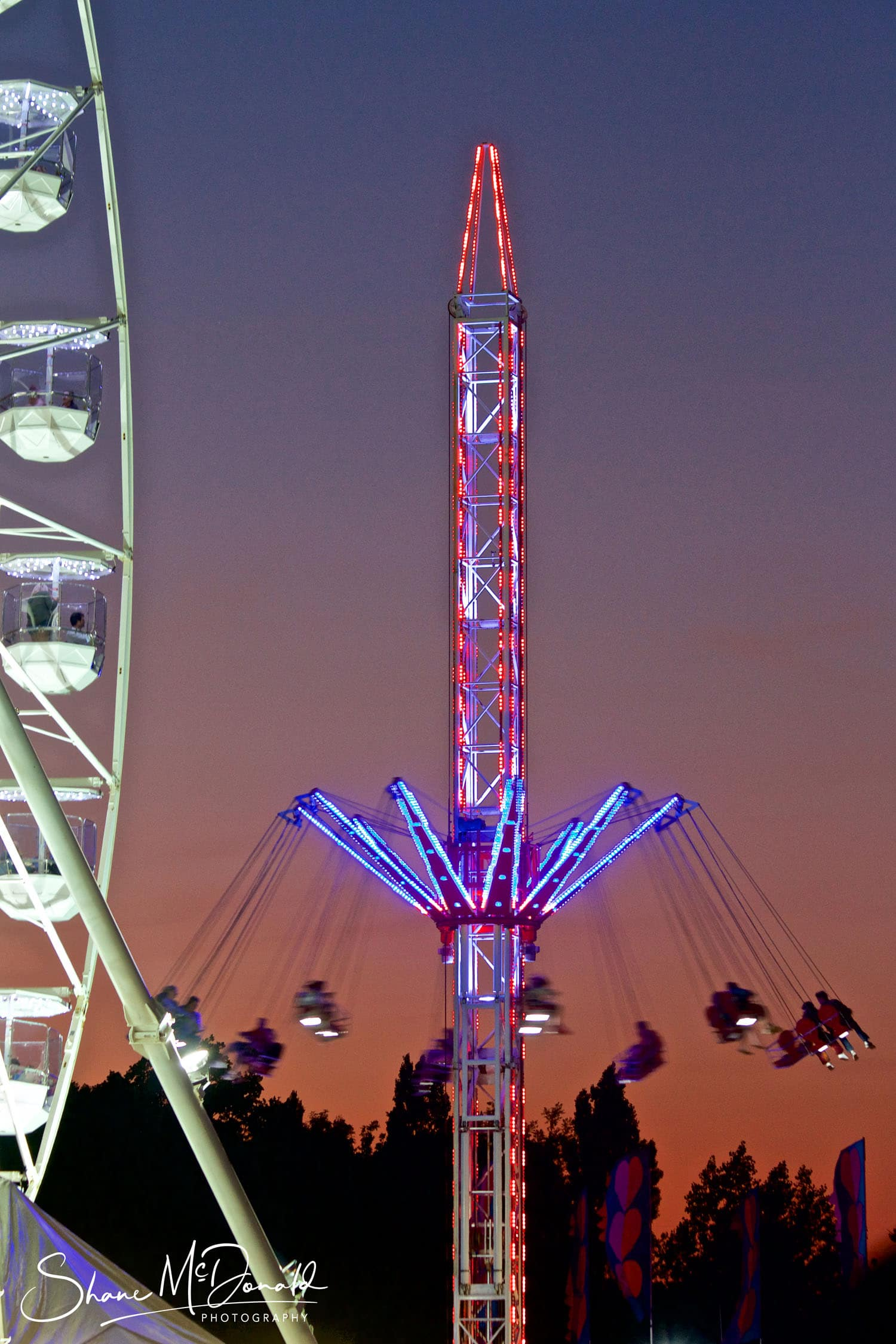 The other Fun Rides at the Isle of Wight Festival