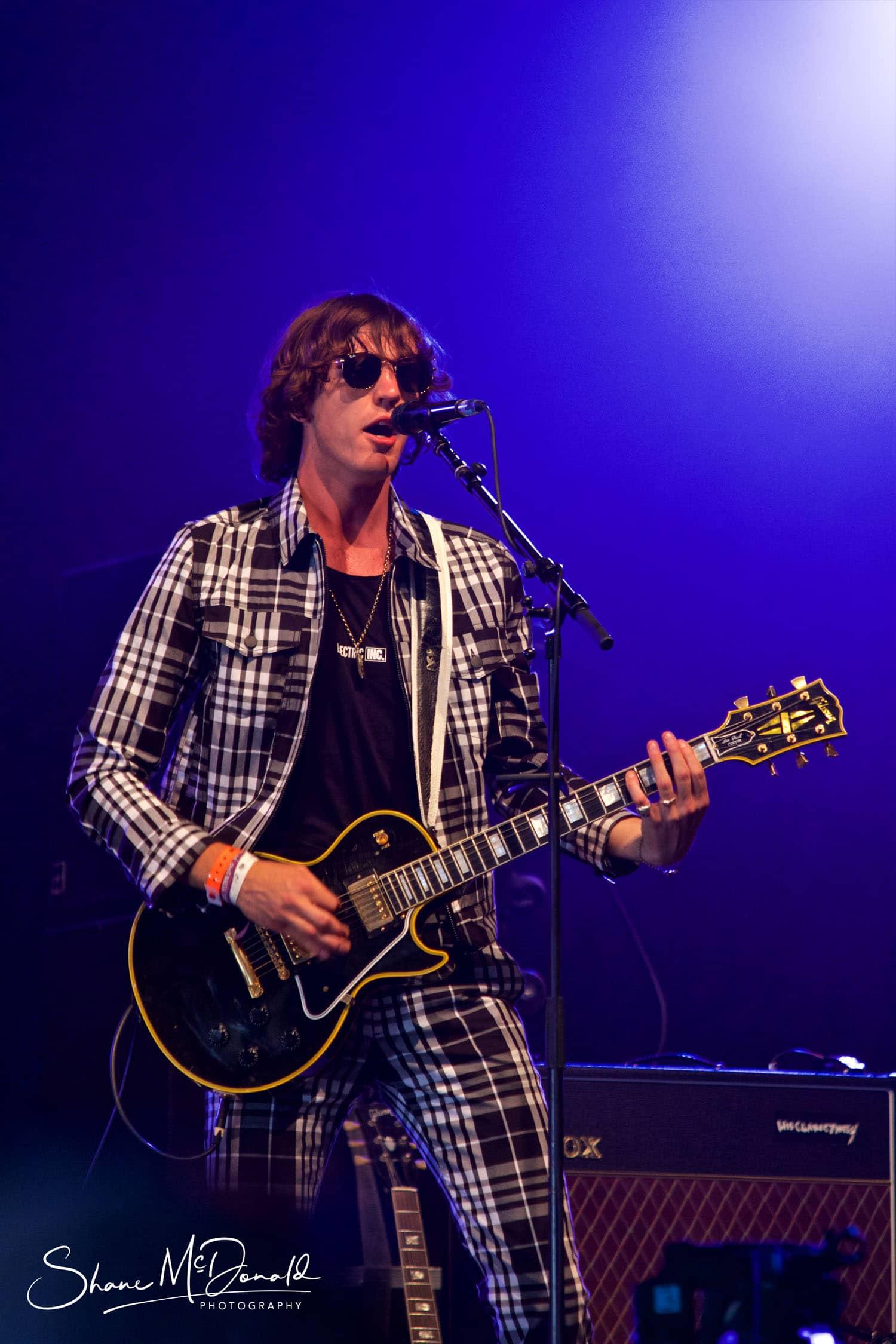 Judas at the Isle of Wight Festival - closeup