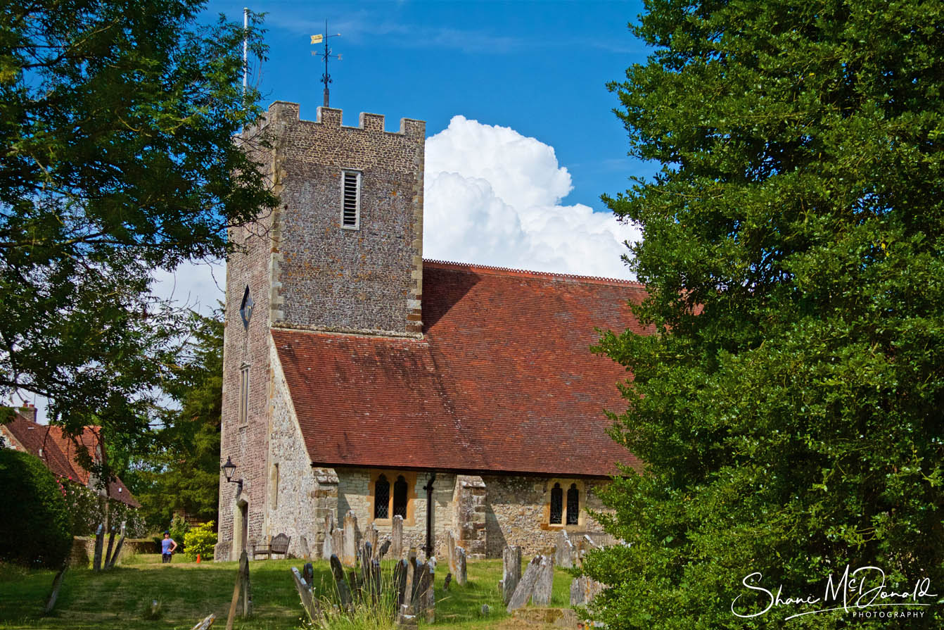 Buriton Church, St Mary the Virgin, Outside