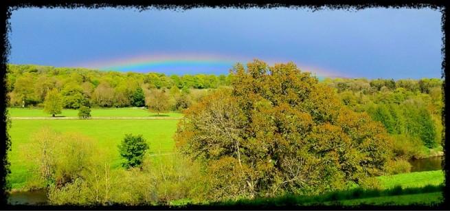 Low Rainbow - iPhone Photography Challenge