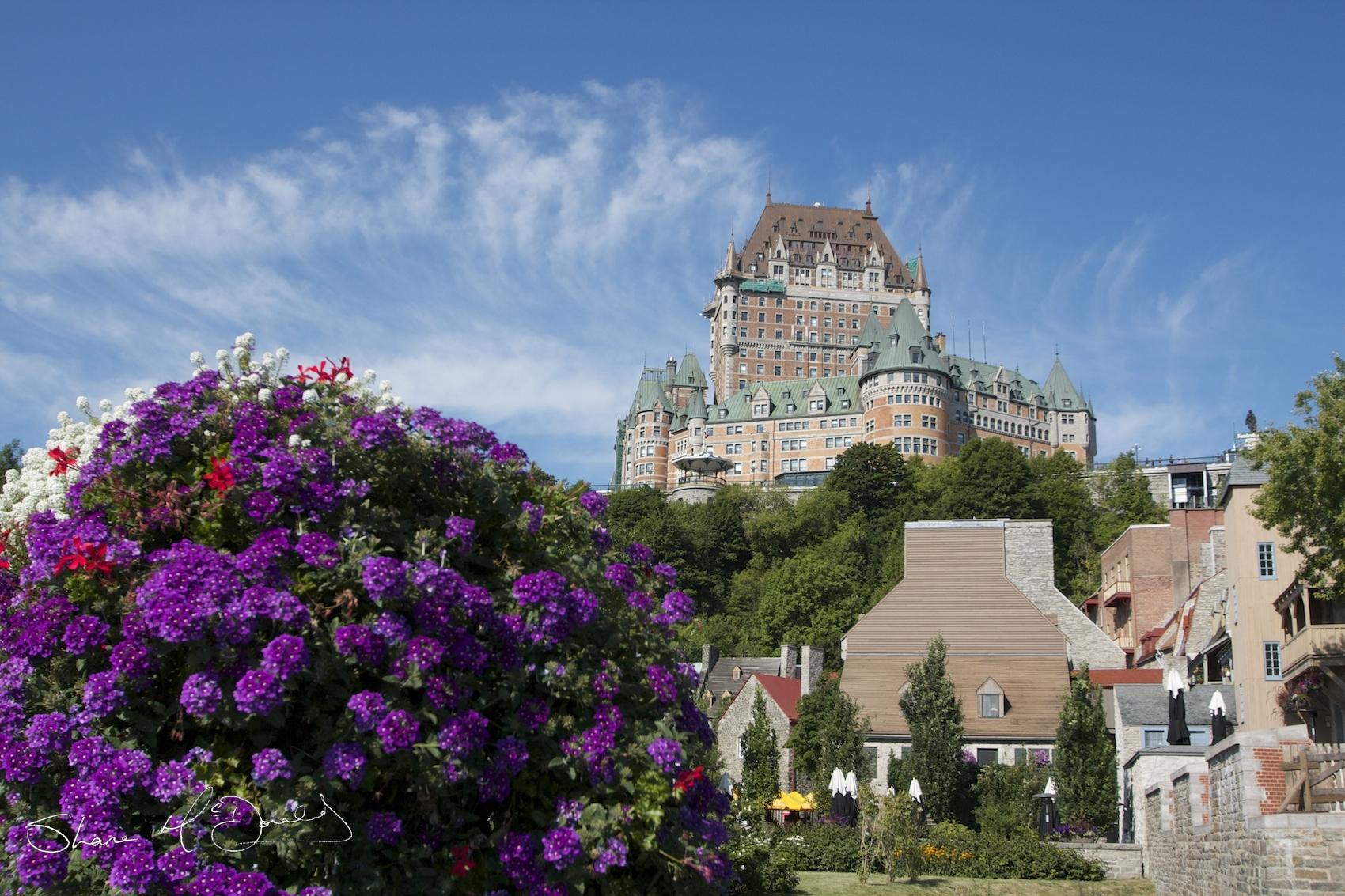 View of Vieux-Québec (Old Quebec)
