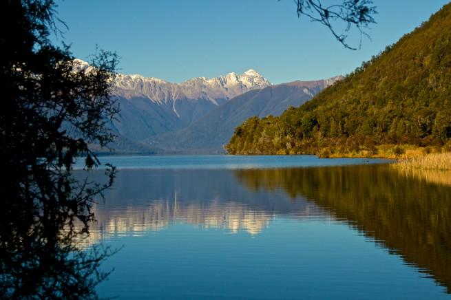 New Zealand Reflective Lake Nelson Lakes
