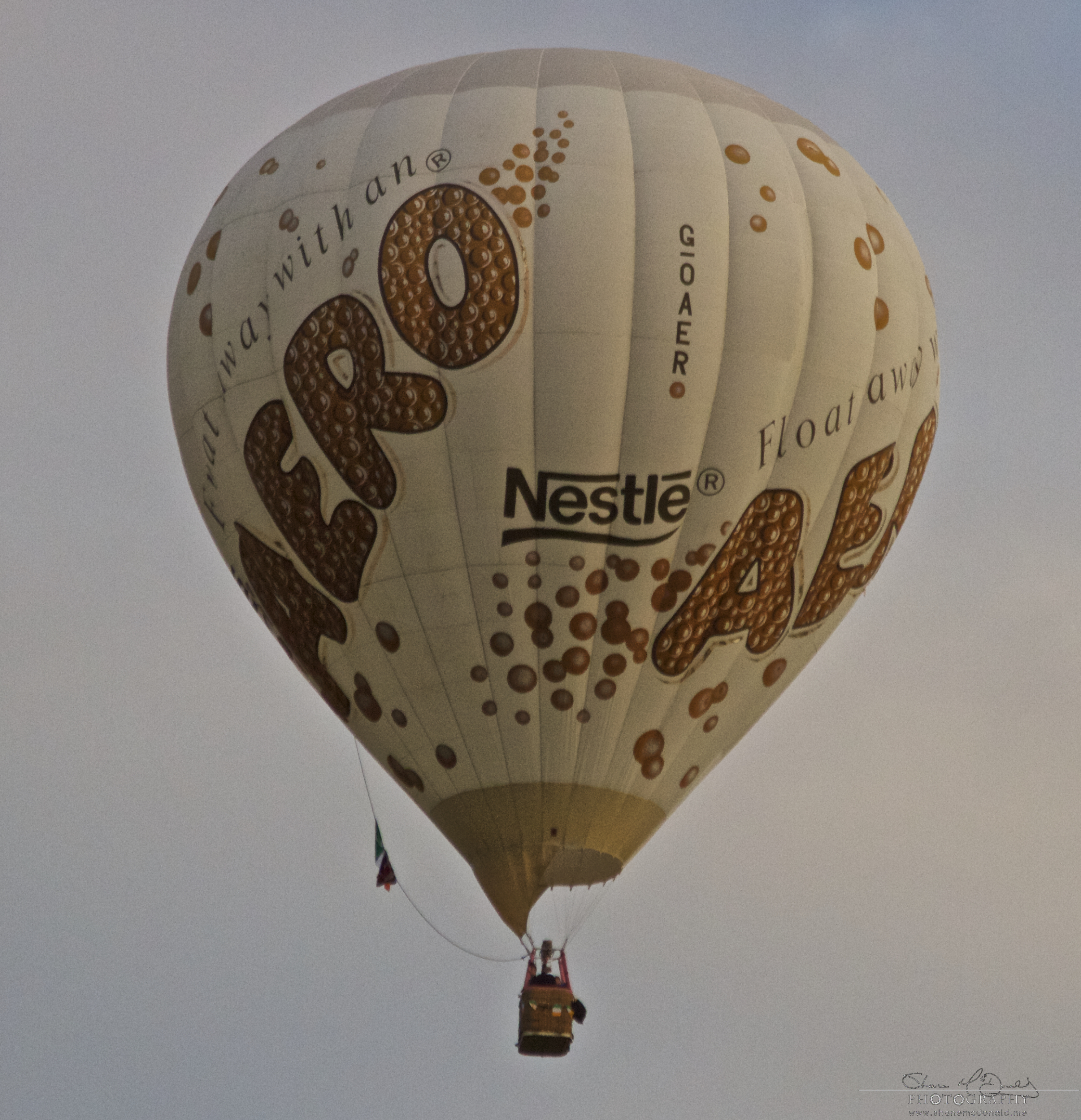 Irish Balloon Championships Aero Chocolate