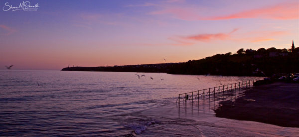 Tramore Prom, Waterford, Sunset